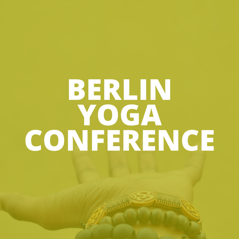 BERLIN YOGA CONFERENCE: POP-UP EVENT #2