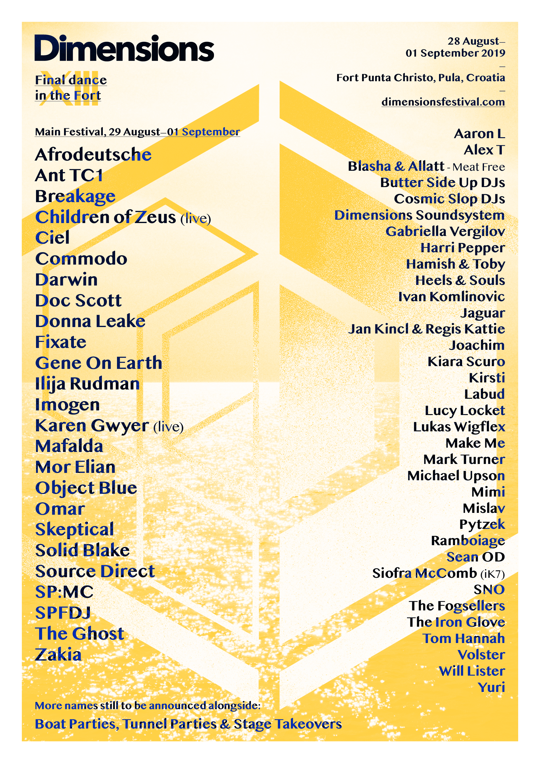 Final Dance in The Fort Dimensions Festival 2019